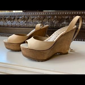 Juicy Couture wedges size 7 1/2